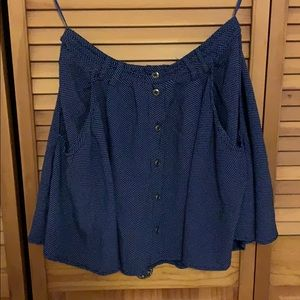 Adorable TOPSHOP mini with buttons and belt loops
